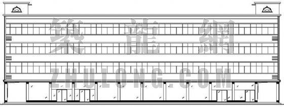 某四层宿舍楼建筑设计方案