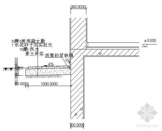 散水节点图3