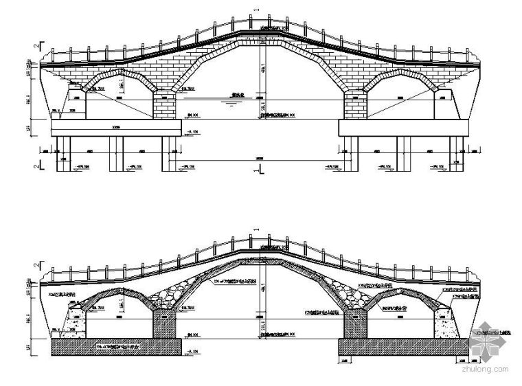 某景观桥施工设计图