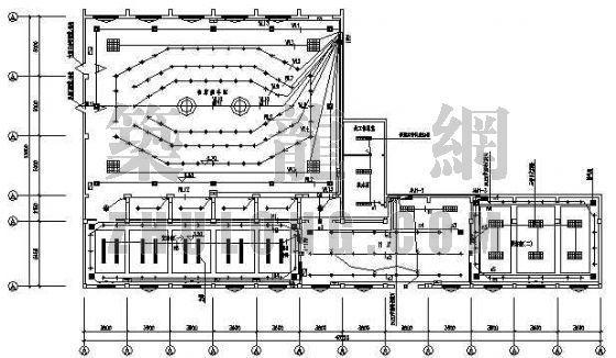 火车站贵宾室电气装修图纸