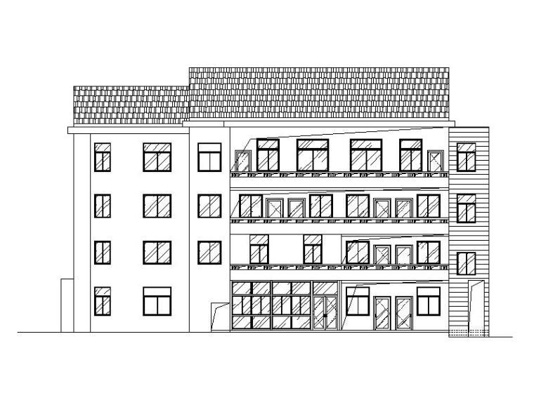 [浙江]幼儿园新校址建筑改造含外立面装修施工图