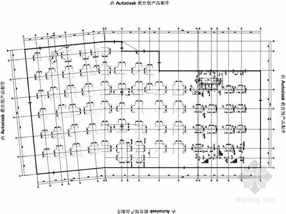 15层框剪结构办公楼结构设计施工图