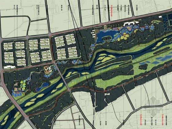 [太原]城市滨水湿地公园景观深化方案(北京著名景观公司)