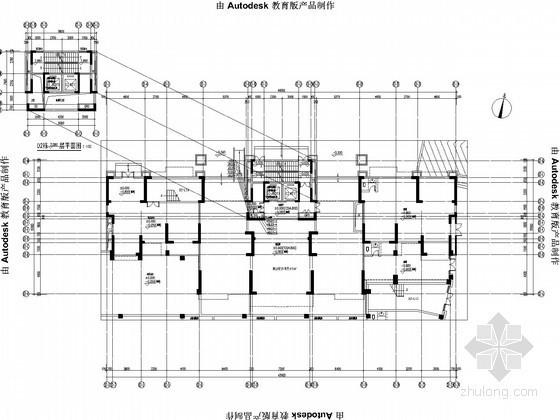 [贵州]高层住宅小区给排水消防施工图