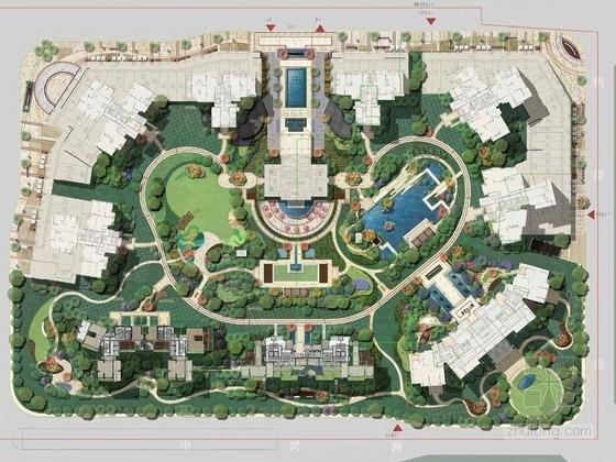 [广州]后现代主义西关情怀高端人文豪宅设计方案(特别推荐)