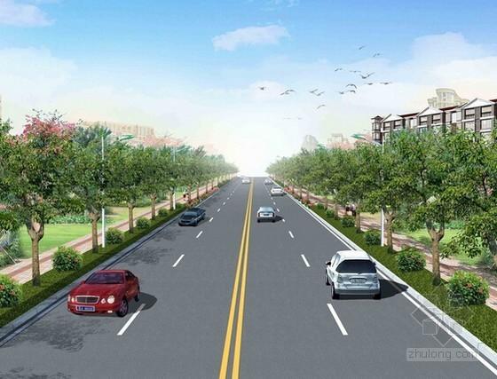 [湖南]城市次干道道路工程量清单招标控制价及招标文件(附CAD图)