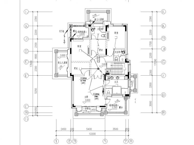 [浙江]度假区别墅全套电气设计施工图(电气节能)