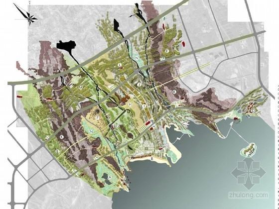 [阿克苏]城市滨水区域城市规划设计方案