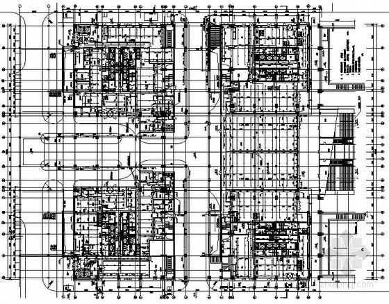 科技园综合办公楼给排水施工图纸(含虹吸雨水系统)