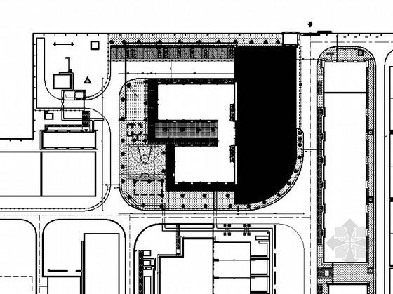 [从化]公共环境广场园林景观植物配置施工图
