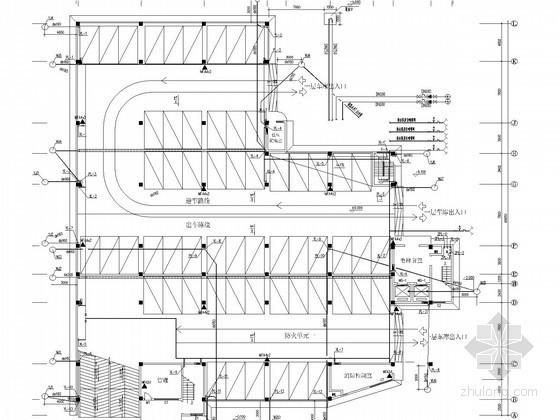 七层停车库房给排水及消防施工图(雨水系统)