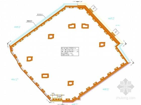 [浙江]复杂环境深基坑复合土钉墙加重力挡墙支护施工图