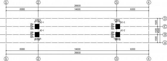 框架大门结构施工图