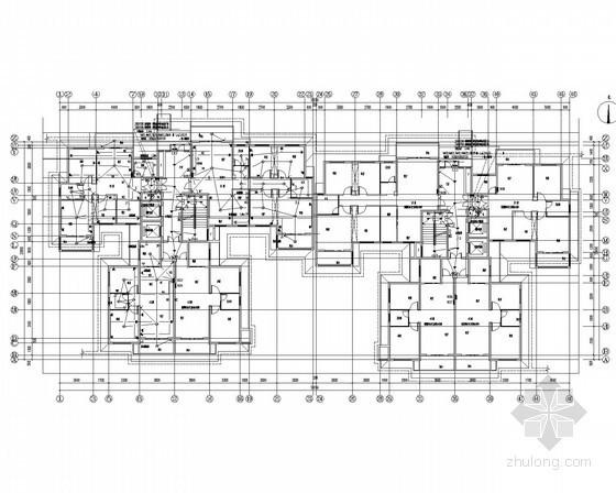 [湖南]多栋高层建筑住宅楼全套电气设计图180张(含配套幼儿园)