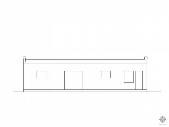 某温室大棚建筑施工图