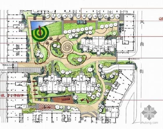 四川居住区组团绿地景观设计