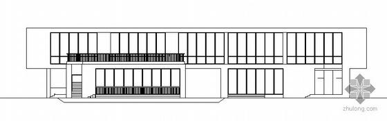 某高科技园区小型智能化孵化楼建筑方案图