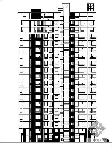 [杭州]某花园住宅小区建筑施工及景观全套施工图