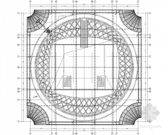 [福建]53层环球大厦动力及照明配电系统设计施工图(著名院设计 含人防设计)