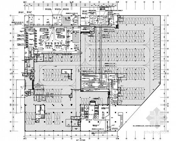 [安徽]二甲医院电气施工图(2014年最新设计应用新规范)