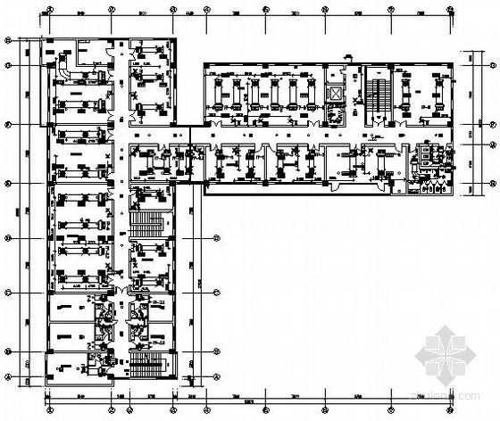 [河南]某停车场综合楼给排水消防施工图纸