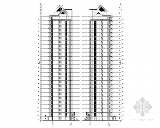 大型住宅项目强电安装工程技术投标文件(含泛光照明工程图纸)
