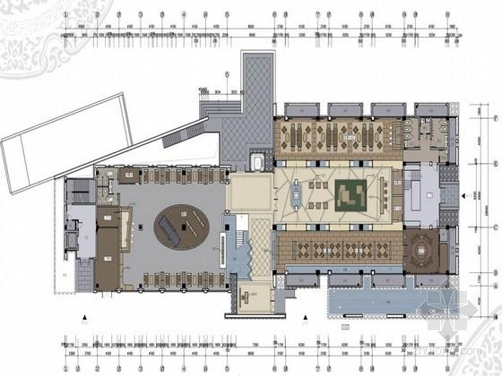 [江苏]某高档销售中心及会所室内设计方案