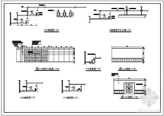 电信办公楼装饰设计图-3