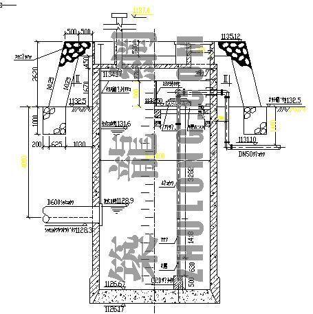 集水井设计图
