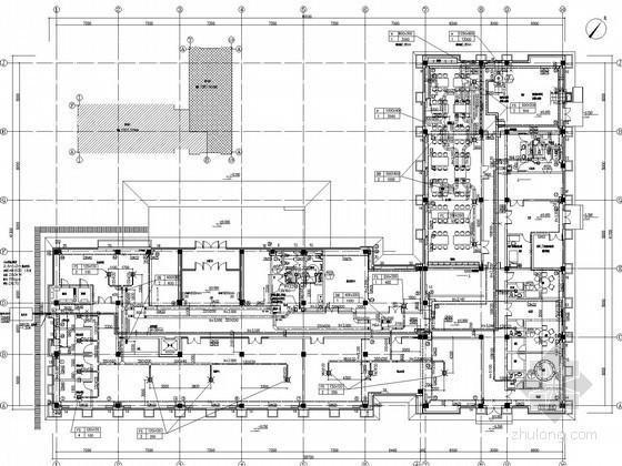 [河北]多层办公楼空调通风及防排烟系统设计施工图(采暖设计)