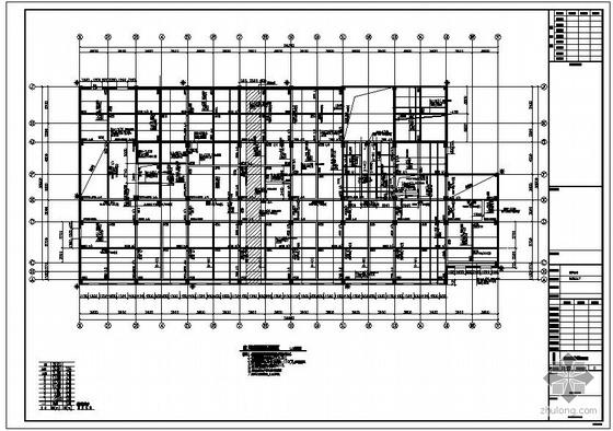 某框架中心卫生院病房综合楼结构设计图