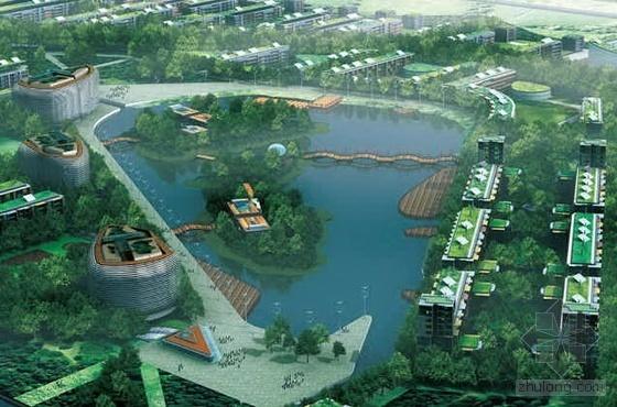天津某国际生态城生态规划设计详细资料