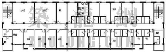 某办公楼建筑平面设计方案