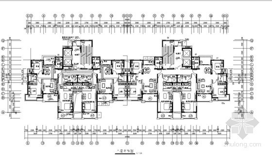 [安徽]高层商品住宅建筑采暖及通风系统设计施工图