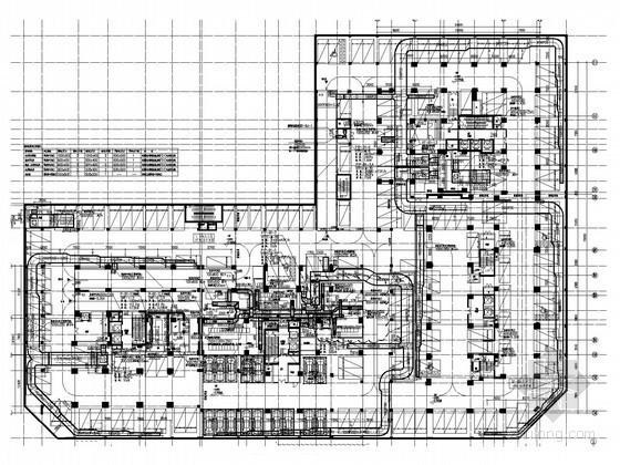[广东]高层住宅楼及所属幼儿园通风空调防排烟系统施工图