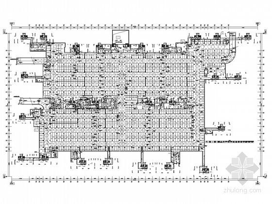 [湖南]大型高层商住楼强电系统施工图纸240张(含15栋 地下室)