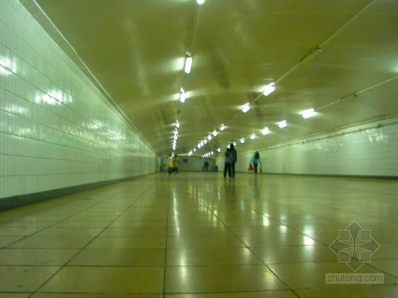 [湖北]地下通道施工方案(明暗结合)