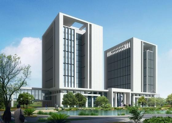 [湖南]综合办公楼建筑工程量清单计价实例(附图纸)