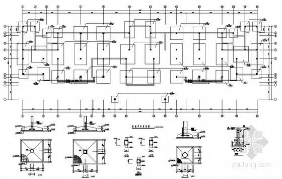[学士]某5层框架办公楼毕业设计(含计算书,建筑、结构图)