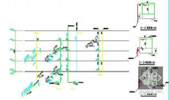 [安徽]学生公寓及食堂建筑安装工程预算书(含施工图纸)-给排水系统图