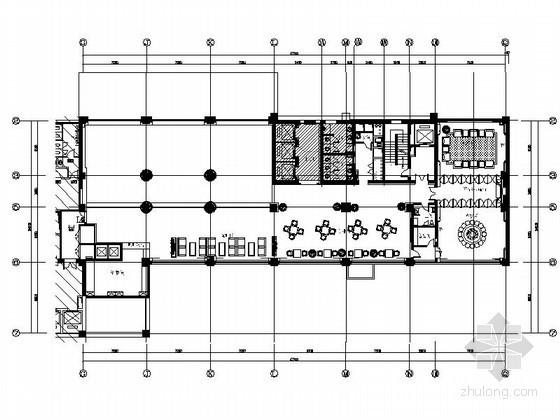 办公楼咖啡厅室内装修设计图
