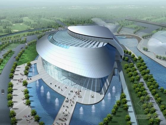 [山东]8层大型剧院建筑设计方案文本(含cad 精品方案 资料齐全)