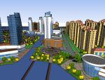临河整体概念规划模型