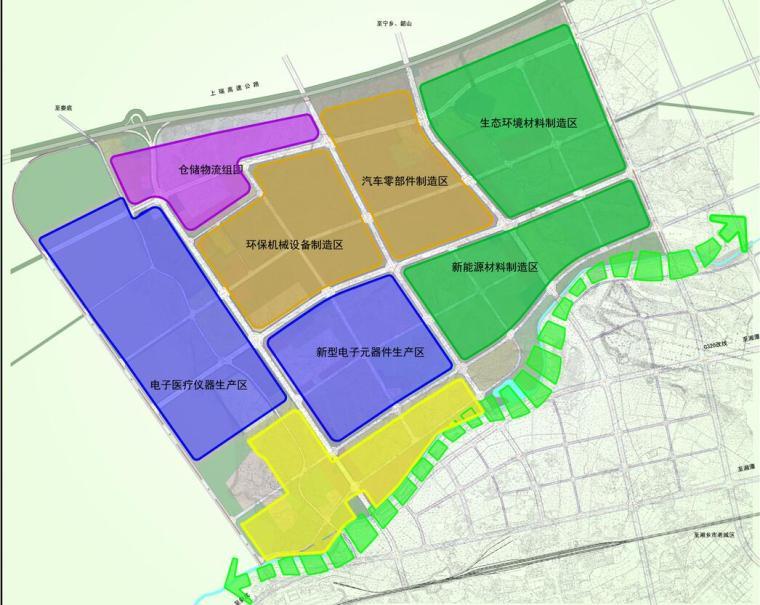 湖南某业园新型产业园控制性详细规划景观方案设计