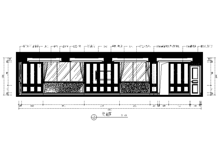 【福建】欧式风格大酒楼设计CAD施工图(含效果图)立面图