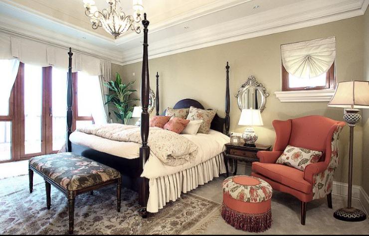 保利高尔夫花园别墅四期室内设计施工图(含实景图)-主卧室实景图