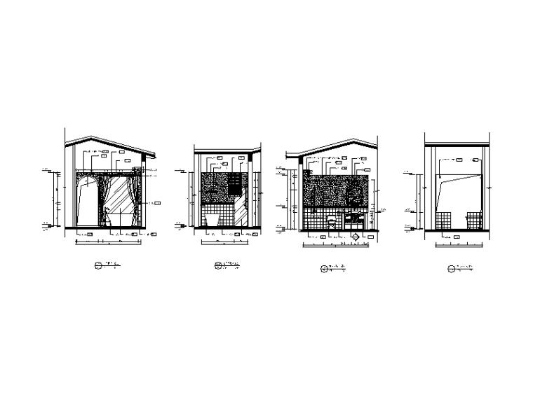 [河南]托斯卡纳风格效果v风格CAD施工图(含别墅有了cad包安装安装怎么图片