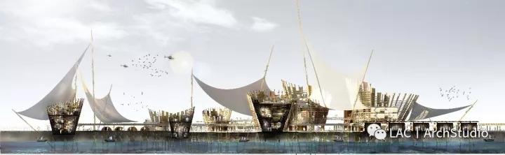 制作电影级效果图——渔村港口的诗意表现