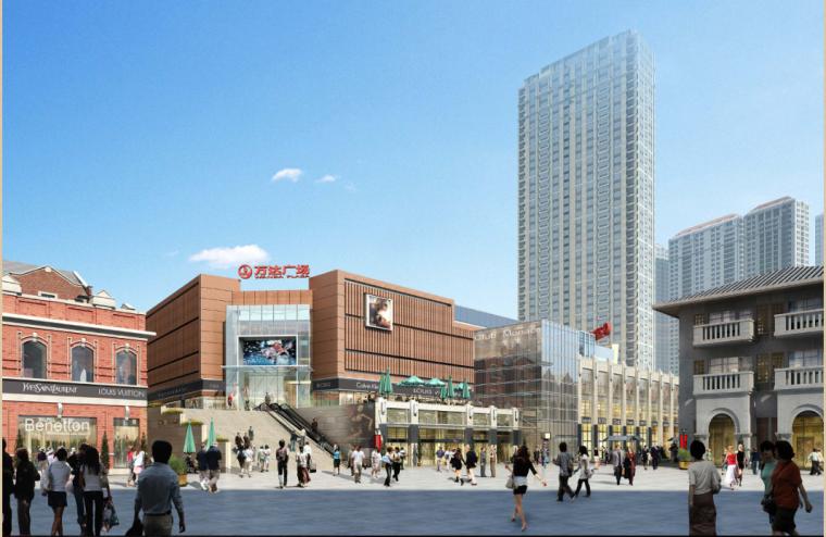 [江苏]后现代感武汉万达中央文化旅游区项目建筑设计方案文本_4