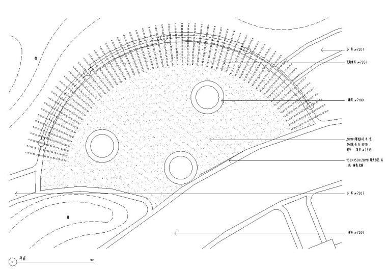 [天津]现代风格顺池蓝水园景观设计施工图(CAD+51个)